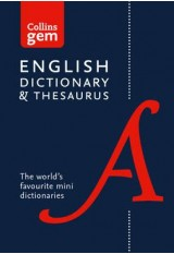 COLLINS GEM -ENGLISH DICTIONARY AND THESAURUS