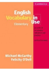 ENGLISH VOCABULARY IN USE ELEMENTARY WITHOUT ANSWERS