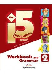 THE INVREDIBLE 5 TEAM 2 WORKBOOK AND GRAMMAR (WITH DIGIBOOK APP.)