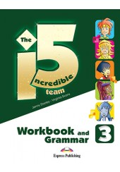 THE INCREDIBLE 5 TEAM 3 WORKBOOK AND GRAMMAR (WITH DIGIBOOK APP.)
