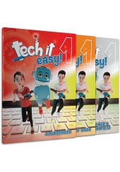TECH IT EASY 1 - ΠΑΚΕΤΟ (COURSEBOOK, ACTIVITY BOOK, WRITER'S PORTOFOLIO, i-BOOK, CD)