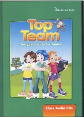 TOP TEAM JUNIOR A AND B ONE YEAR COURSE CLASS AUDIO CD's