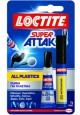 ΚΟΛΛΑ SUPER ATTAK ALL PLASTICS 2ΓΡ. + 4ml