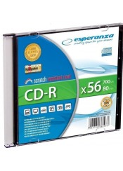 CD-R ESPERANZA 700MB 56X SLIM ΜΕ ΘΗΚΗ
