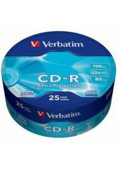 VERBATIM CD-R 700MB 52X 25 ΤΕΜΑΧΙΑ 43807