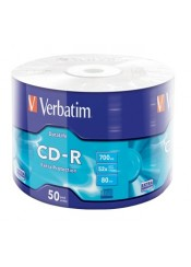 CD-R 700MB 52X 50T VERBATIM 43787
