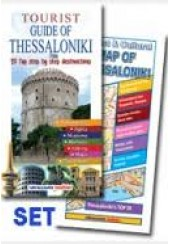 TOURIST GUIDE OF THESSALONIKI & MAP 20 TOP