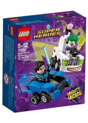 MIGHT MICROS NIGHTWING VS JOKER - LEGO SUPER HEROES 76093