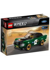 FORD MUSTANG FASTBACK 1968 - LEGO SPEED CHAMPIONS 75884