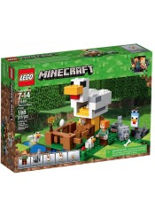 THE CHICKEN COOP - LEGO MINECRAFT 21140
