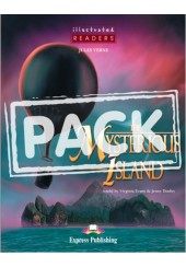 THE MYSTERIOUS ISLAND +CD (ILLUSTRATED READERS)