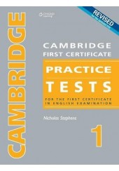 CAMBRIDGE PRACTICE TESTS FOR FIRST CERTIFICATE 1