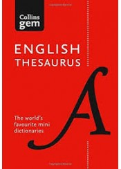ENGLISH THESAURUS - COLLINS GEM