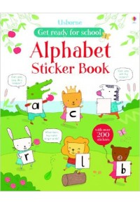 ALPHABET STICKER BOOK 978-1-4095-6466-9 9781409564669