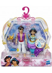 ΣΕΤ ΚΟΥΚΛΕΣ ALADDIN PRINCESS DISNEY ROYAL CLIPS