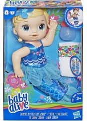 ΚΟΥΚΛΑ BABY ALIVE - SHIMMER 'N SPLASH MERMAID