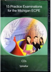 15 PRACTICE EXAMINATIONS FOR ECPE CD