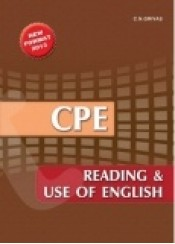 CPE READING & USE OF ENGLISH NEW FORMAT 2013