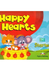 HAPPY HEARTS STARTER PUPIL'S PACK (WITH SONGS CD/DVD,PRESS OUTS, STICKER'S)
