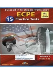 SUCCEED IN MICHIGAN ECPE 2013 VOL 1 (1-10) STUDENT'S