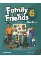 FAMILY AND FRIENDS 6 CLASS BOOK + MULTIROM PACK