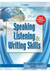 NEW FCE SPEAKING, LISTENING AND WRITING SKILLS NEW FORMAT 2015