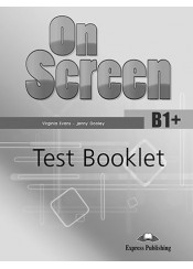 ON SCREEN B1+(PLUS) TEST BOOKLET