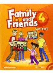 FAMILY AND FRIENDS 4 CLASS BOOK (+CD)