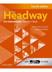 NEW HEADWAY PRE INTERMEDIATE TEACHER'S BOOK WITH TEACHER'S RESOURCE DISC