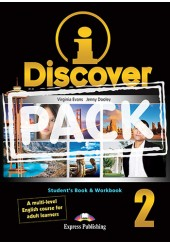 I DISCOVER 2 STUDENT'S BOOK & WORKBOOK WITH ieBOOK