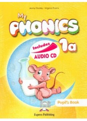 MY PHONICS 1a STUDENT'S PACK WITH CROSS-PLATFORM (INCLUDES AUDIO CD)