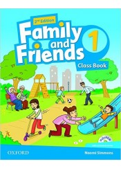 FAMILY AND FRIENDS 1 CLASS BOOK (+MULTI ROM)