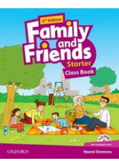 FAMILY AND FRIENDS STARTER CLASS BOOK (+ MULTI ROM)
