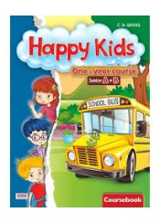 HAPPY KIDS ONE-YEAR COURSE JUNIOR A+B COURSEBOOK