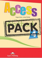 ACCESS 4 WORKBOOK PACK 1 WITH PRESENTATION SKILLS (+ DIGIBOOK APP.)