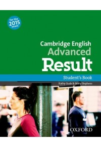 CAMBRIDGE ENGLISH ADVANCED RESULT STUDENT'S BOOK 978-0-19-450285-6 9780194502856