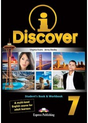 I DISCOVER 7 STUDENT'S BOOK AND WORKBOOK WITH ieBOOK