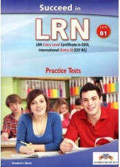 SUCCEED IN LRN B1 PRACTICE TEST STUDENT'S BOOK