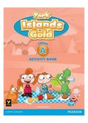 YORK ISLANDS GOLD JUNIOR A ACTIVITY BOOK (+STICKERS)