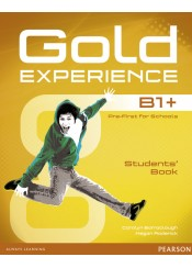 GOLD EXPERIENCE B1+ STUDENT'S BOOK (+DVD)