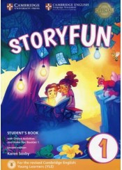 STORYFUN 1 STUDENT'S BOOK WITH ONLINE ACTIVITIES AND HOME FUN BOOKLET 1