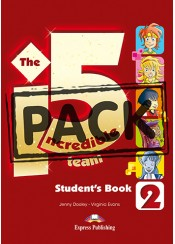 INCREDIBLE 5 TEAM 2 POWER PACK