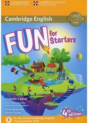 CAMBRIDGE ENGLISH FUN FOR STARTERS 4TH EDITION (WITH ONLINE ACTIVITIES AND HOME FUN BOOKLET)