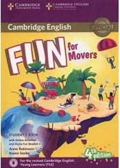 CAMBRIDGE ENGLISH FUN FOR MOVERS SB 4TH ED. (+ONLINE ACTIVITIES AND HOMEFUN BOOKLET 4)