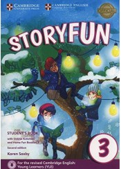 STORYFUN 3 STUDENT'S BOOK (+HOME FUN BOOKLET AND ONLINE ACTIVITIES)