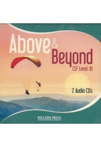 ABOVE AND BEYOND B1 CLASS CD's (2)  9789604248698