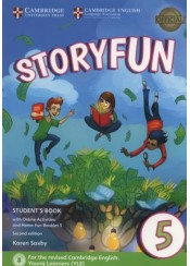 STORYFUN 5 STUDENT'S BOOK (+ONLINE ACTIVITIES +HOME FUN BOOKLET)