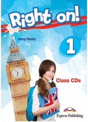 RIGHT ON! 1 CLASS CDs (SET OF 3)