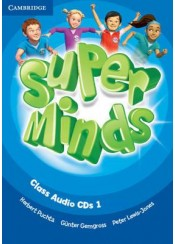 SUPER MINDS 1 CLASS AUDIO CD'S