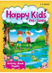 HAPPY KIDS PRE-JUNIOR ACTIVITY (+CD)